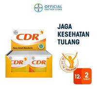 CDR Tablet Effervescent (12 Strip @ 2 Tablet)