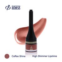 Inez High Shimmer Lipshine - Coffee Shine
