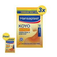 BELI 3 GRATIS 1 Hansaplast Koyo Hangat Resealable 10's