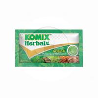 Komix Herbal Sachet 15 mL (1 Box @ 6 Sachet)