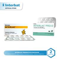 Interlac Probiotics Package Lemon