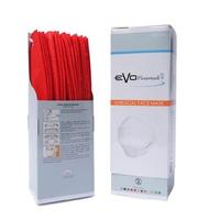 Evo PlusMed 4D Surgical Face Mask (Box @ 25 Pcs) - Merah