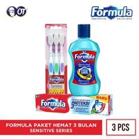 Paket Formula 3 Bulan - Sensitive Series