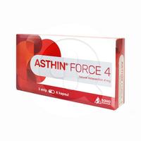 Asthin Force Kapsul 4 mg (3 Strip @ 6 Kapsul)