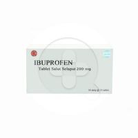 Ibuprofen Tablet 200 mg (1 Strip @ 10 Tablet)