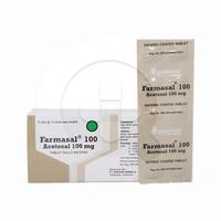 Farmasal Tablet 100 mg (10 Strip @ 10 Tablet)