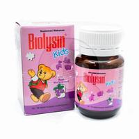 Biolysin Kids Blackcurrant Tablet (1 Botol @ 30 Tablet)