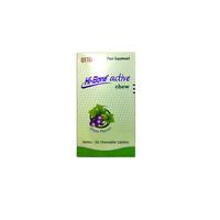Hi-Bone Active Chew Grape Tablet (Botol - 30 Tablet)