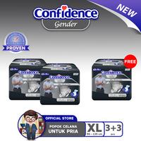 Confidence Popok Gender Men XL 3 - BUY 2 GET 1