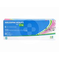 Amlodipine Hexpharm Tablet 10 mg (10 Strip @ 10 Tablet)