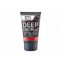 MEN'S BIORE Double Scrub Facial Foam Deep Fresh 100 g