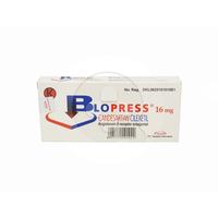 Blopress Tablet 16 mg (2 Strip @ 7 Tablet)