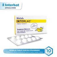 Interlac Tablet Kunyah Strawberry