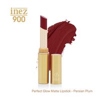 Inez 900 Perfect Glow Matte Lipstick - Persian Plum