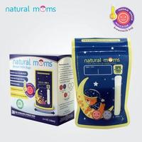 Natural Moms Kantong ASI 100 ml - Thermal Sensor - Sleeping Bear