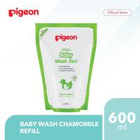 Pigeon Baby Wash Chamomile 600 mL Refill