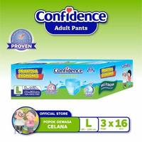 Confidence Popok Celana Medium Flow E-Pack L 48