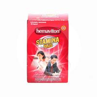 Hemaviton Stamina Plus Kapsul (10 Strip @ 5 Kapsul)