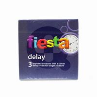 Fiesta Kondom Delay (1 Box @ 3 Pcs)