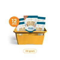 Casa Grata - Small Set of 12 Crackers A - Same Flavour 20 g - 12 Sea Salt