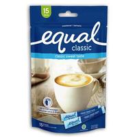Equal Classic Sweetener - Pemanis Buatan 15 Sticks