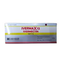 Ivermax Kaplet 12 mg (1 Strip @ 10 Kaplet)