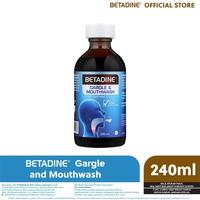 BETADINE Mouthwash & Gargle 240 ml