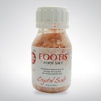 Borobudur Herbal Footis Foot Salt Pink 300 g