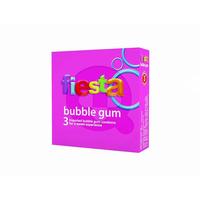 Fiesta Kondom Buble Gum (3 Pcs)