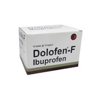 Dolofen-F Kapsul 400 mg (10 Strip @ 10 Kapsul)