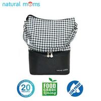 Natural Moms Thermal Bag/Cooler Bag - Tote Hounstooth