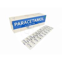 Paracetamol MEF Kaplet 500 mg (1 Strip - 10 Kaplet)