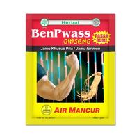 Air Mancur Serbuk Benpwass Plus PB Sachet 7 g (10 Sachet)