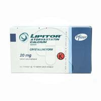 Lipitor Tablet 20 mg (3 Strip @ 10 Tablet)