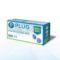 PLUG Nasal Filter Refill 1 Box (6 Pack @ 8 Pcs)