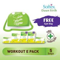 Softex Daun Sirih Pantyliner Workout Package