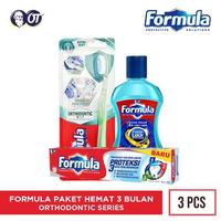 Paket Formula 3 Bulan - Orthodontic Series