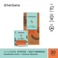 Herbana Relief Sari Powder Kulit Manggis - 30 Sachet