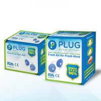PLUG Nasal Filter Paket A 2 Box (6 Pack @ 2 Pcs & 6 Pack @ 4 Pcs)