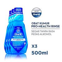 Oral-B Rinse Pro Health 500 ml - Paket isi 3