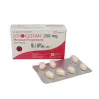 Utrogestan Kapsul 200 mg (1 Strip @ 15 Kapsul )