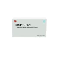 Ibuprofen Tablet 400 mg (1 Strip @ 10 Tablet)