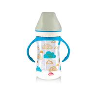 Lusty Bunny Botol Susu Wide Neck With Handle 250 ml - Biru