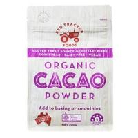 Red Tractor Organic Cacao Powder/Bubuk Cokelat Organik 300 g