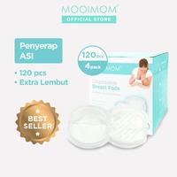 MOOIMOM Disposable Breast Pads (4 Pack @ 120 Pcs)
