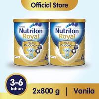 Paket 2 - Nutrilon Royal 4 Susu Pertumbuhan 3-6 Tahun Vanila 800 g