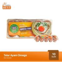 So Good Telur Ayam Omega (10 Butir)
