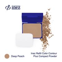 Inez Color Contour Plus Refill Compact Powder - Deep Peach