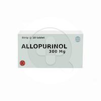 Allopurinol Tablet 300 mg (1 Strip @ 10 Tablet)
