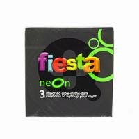 Fiesta Kondom Neon (1 Box @ 3 Pcs)